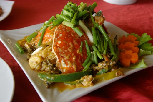 Best food in asia - kampot pepper crab
